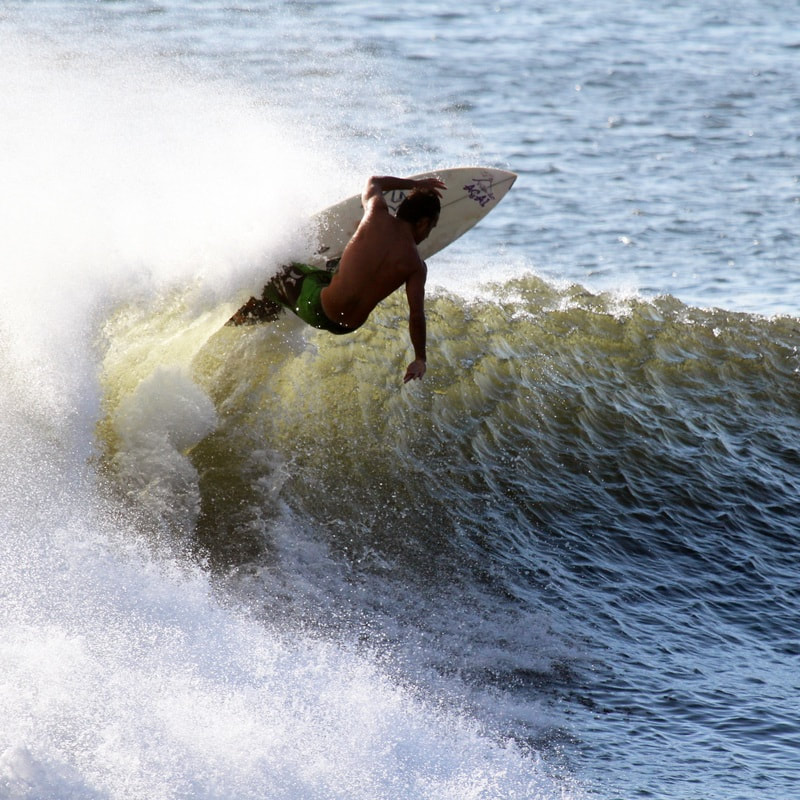 Surfing Lessons in Playa Samara, Costa Rica with Leo Tours